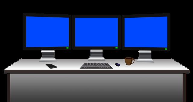 kreslené počítače